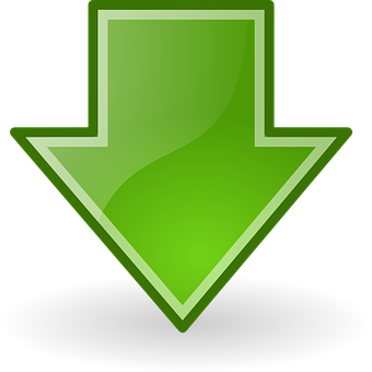 Download, Down, Arrow, Under, Downward, Icon