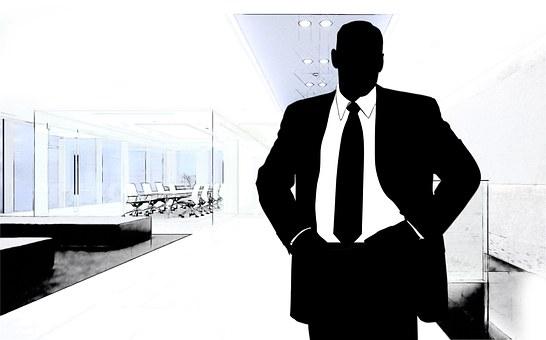Man, Businessmen, Economy, Development, Office, Manager