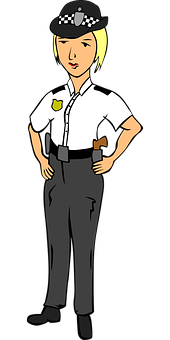 Police Officer, Police, Officer, People, Woman, Uniform