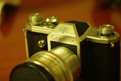 Camera, Photography Old, Retro, Zeiss Ikon, Contax