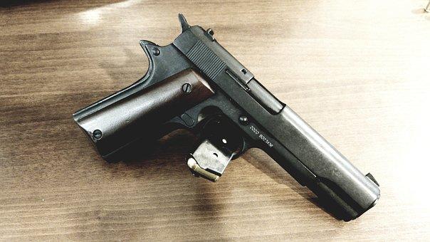 Colt, Weapon, Gun, Militaria, The Military