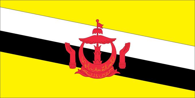 Flag, Country, Brunei