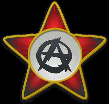 Anarchist Star, Star, Red