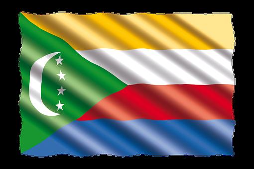 International, Flag, Comoros