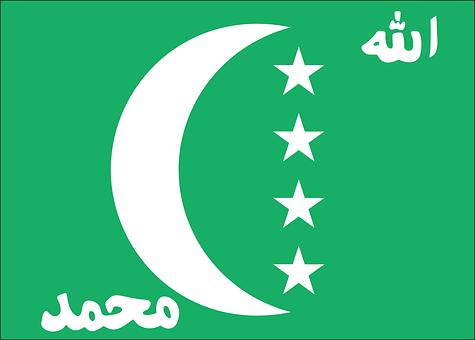 Flag, Country, Comoros