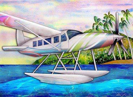 Hydroplane, Seaplane, Aircraft, Seaplanes, Plane