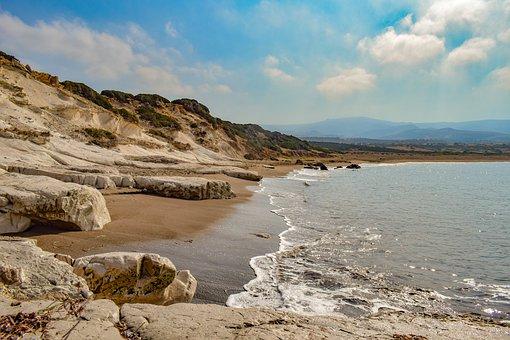 Bay, Beach, Deserted, Cyprus