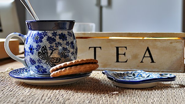 Tea, Biscuits, Porcelain