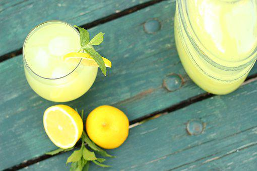 Lemonade, Mint, The Drink, Cooling, Summer, Glass, Cold