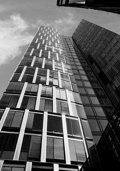 Sw, Skyscraper, Facades, Offices, Architecture