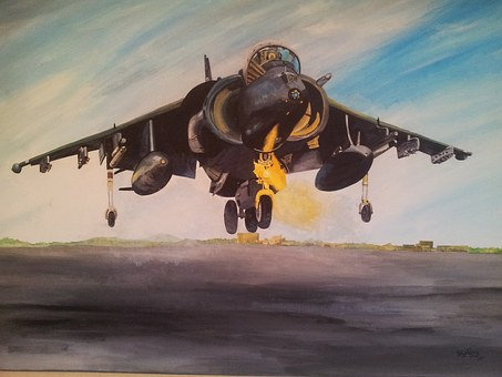 Aircraft, Painting, Art, Aviation, Flight, Artwork