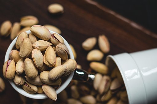 Pistachio, Nuts, Food