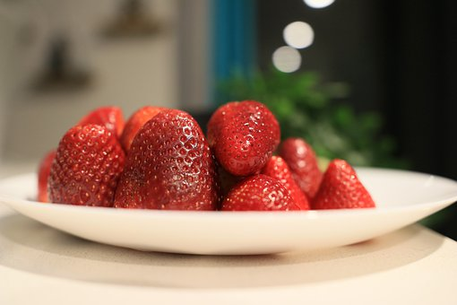 Strawberries, Fruit, Healthy, Strawberry, Food, Red