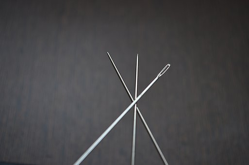 Needles, Head, Pointed