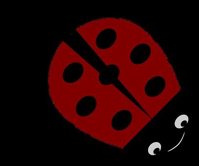 Ladybug, Insect, Red, Animal, Beetle, Lucky Charm