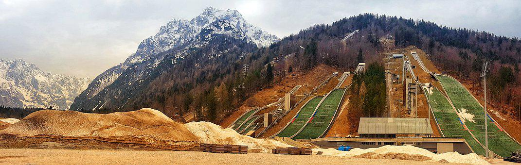 Planica, Slovenia, Ski Jumping, Nordic Centre