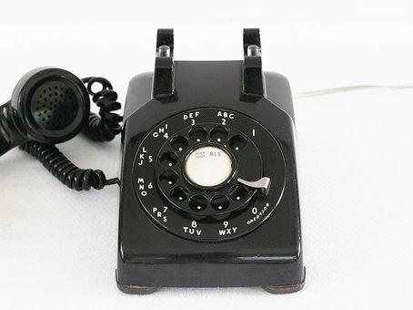Telephone, Phone, Call, Technology, Vintage, Dial