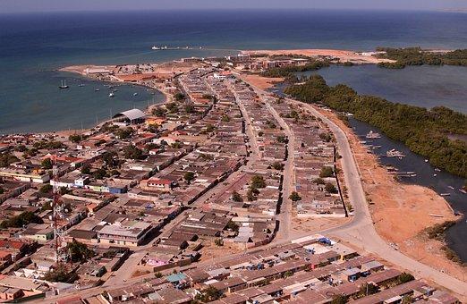 Air, Island, Daisy, Venezuela, Houses, Sea