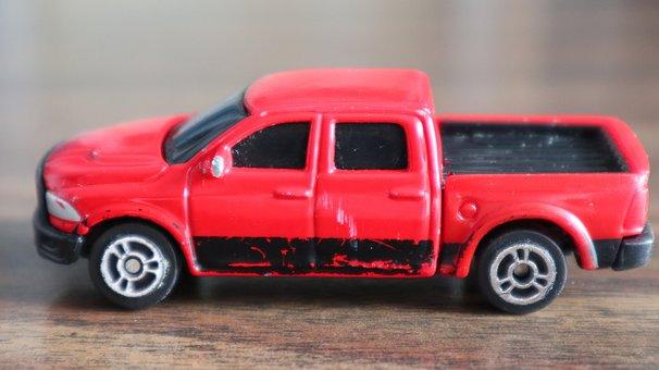 Pickup, Car, Auto, Vehicle, American, Model, Automobile