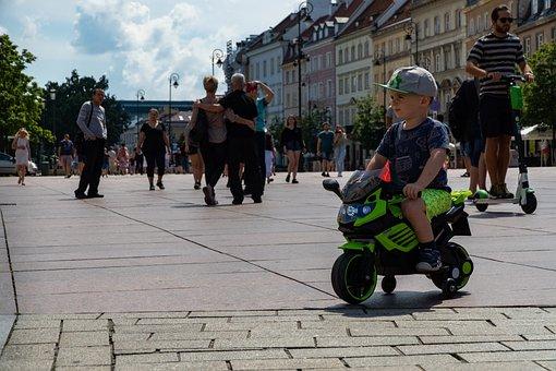 Child, Kid, Boy, Childhood, Motorcycle