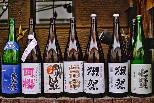 Sake, Drink, Alcohol, Liquor, Beverage, Japanese, Tokyo