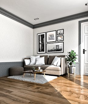 Living Area, Interior, Design, Modern, Contemporary