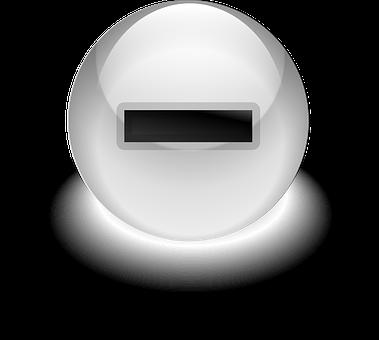 Button, Minus, Negative, Sign, Symbol, Icon, Subtract