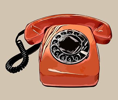 Vintage, Telephone, Dial
