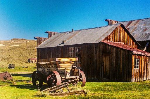 Farmhouse, Farm, Meadow, Rustic, Rural, Abandoned