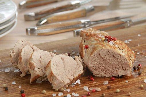 Pork Loin, Meat, Fillet, Pork, Pig, Fillet Piece, Food