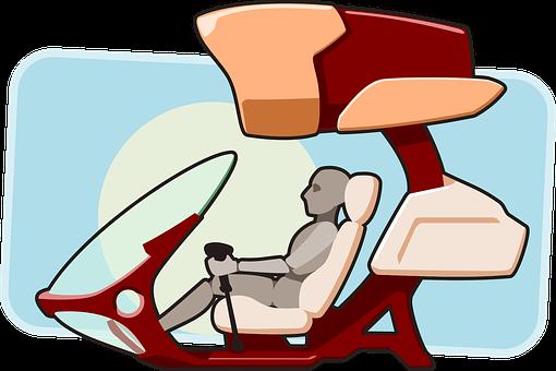 Cockpit, Futuristic, Pilot, Aeroplane, Flying