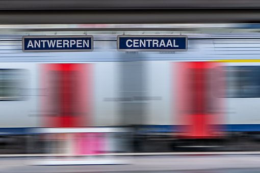 Antwerpen, Centraal, Train Station, Train, Transport