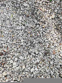 Stones, Construction, Crushed Stone, A Bunch Of, Day