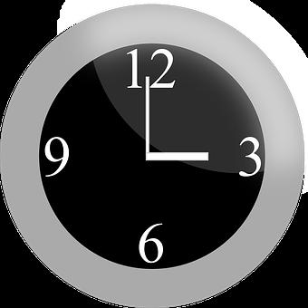 Clock, Analog, Time, Analog Clock, Hour, Three O'clock