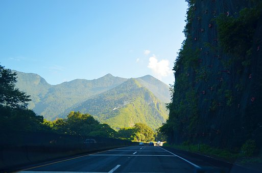 Mountain, Road, Nature, Landscape, Asphalt, Panorama