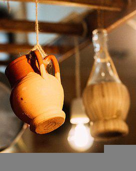 Light, Light Bulb, Lowlight, Ceramics, Decor, Handmade