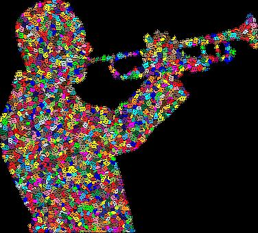 Trumpet, Man, Music, Notes, Instrument, Hear, Musical