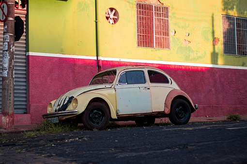 Old Car, Abandoned, Car, Old, Rust, Corroded, Metal
