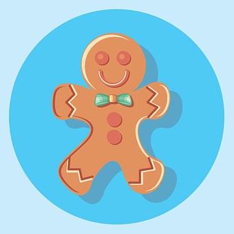 Gingerbread, Food, Christmas, Decoration, Ginger, Xmas