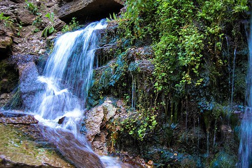 Waterfall, Nature, Water, Old Izborsk, Beauty In Nature