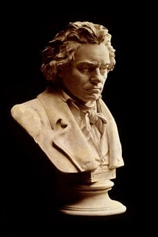 Ludwig Van Beethoven, Bust, Composer, Head, Man