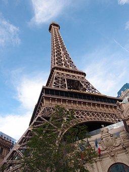 Vegas, Eiffel Tower, Casino, Usa, America, Gamble