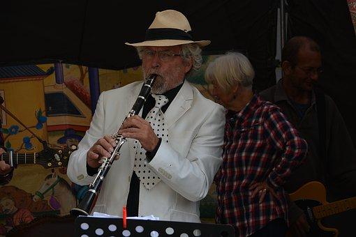 Clarinetist, Clarinet, Musician, Artist, Jazz, Concert