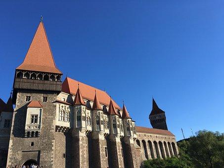 Castle, Hunedoara, Romania, Transylvania, Corvinesti