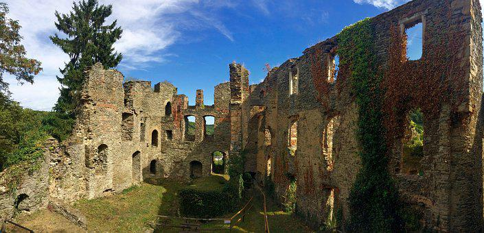 Dalberg, Castle, Ruins, Germany