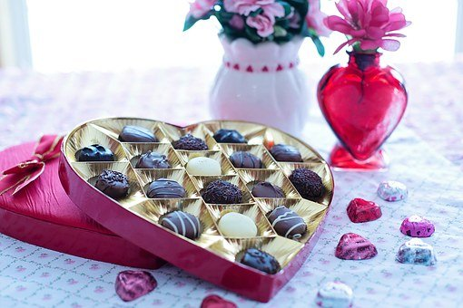 Valentine's Day, Chocolates, Day, Love, Valentine