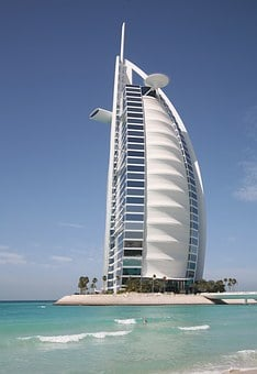 Burj Al Arab, Canvas, Dubai, Hotel, Tourism