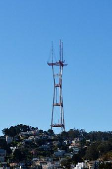 San Francisco, Sutro, Tower, Francisco, California