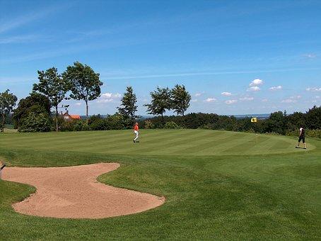 Golf, Golf Club, Rush, Golf Turf, Sport, Bunker, Sand