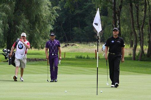 Lee Slattery, Graeme Strom, Golfers, Players, Playing